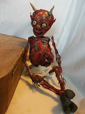 Hull House Devil Baby Sideshow Gaff Mummified Oddities Cabinet of Curiosity