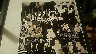 tegan and sara this business  of art so jealous  the con  autograph  rare poster