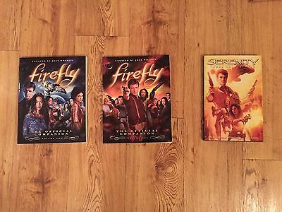 Firefly Serenity Official Companion Volume 1 & 2 & Those Left Behind Comic Book