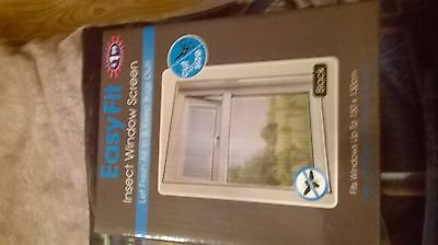 Easy Fit insect window screen