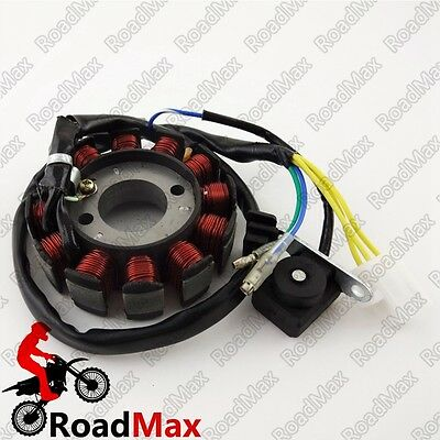 Chinese Moped Gy6 12 Poles Ignition Magneto Rotor 125 150cc ATV Go Kart