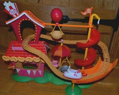 Mini Lalaloopsy Silly Funhouse Amusement Park Rollercoaster *DOLL NOT INCLUDED*