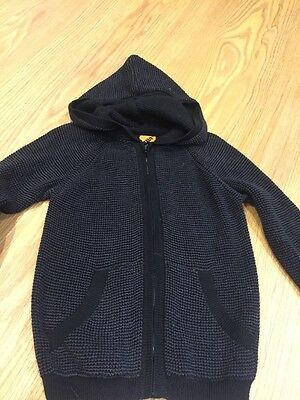 Boys Size 4 Black Knitted Cardigan