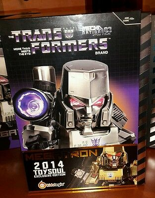 Kids logic transformers  mn-03g megatron gold EXCLUSIVE EDITION TOYSOUL 2014
