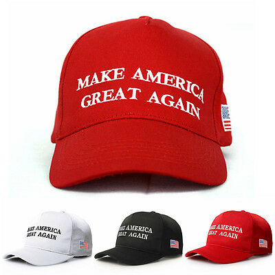 Make America Great Again Donald Trump Patriot Hat Republican Embroidered Cap DAZ