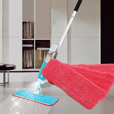 3Pcs Replacement Microfiber Spray Mop Dust Mop Household Mop Head Cleaning Pad