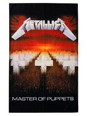 Metallica master of puppets Textile Poster Flag