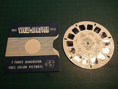 VIEWMASTER REEL No.2026 MONTREUX TO LAUSANNE  7 X 3D FULL COLOR KODACHROME