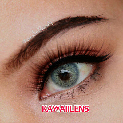 Kontaktlinsen Contact Lenses Cosmetic Cosplay Eye Color Makeup Lens Pitchy Gray