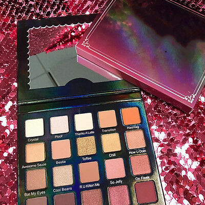 Eye Shadow Palette Makeup Nude 20 Colors Warm color Cosmetics Natural