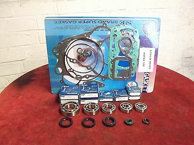 Aprilia RS125 Complete Koyo Bearing/Seal Kit & full gasket kit.Rotax 122 & 123