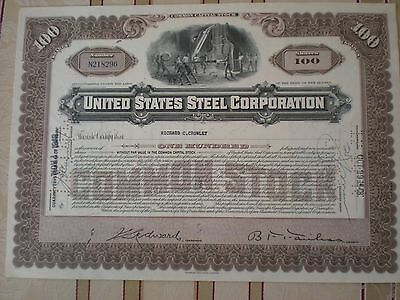 USA -    United States Steel Corp.  100 Shares  1940er  10/250-1