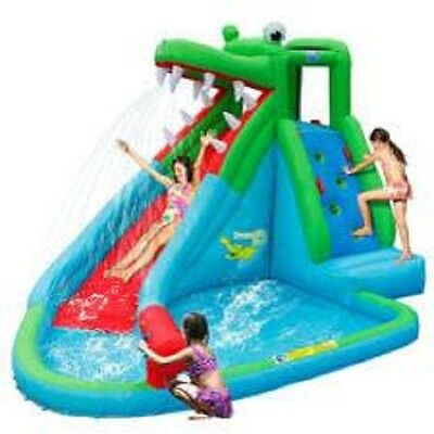 Jumping Castle Crocodile  Attack Water Slide Hire Only Melbourne Children Party