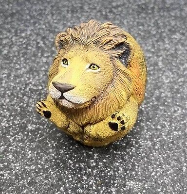 African Lion King Ball Ball Animal PVC Mini Figurine Figure