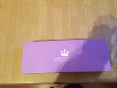 Boxed Princess Catherine collectable doll / Royal memorabilia