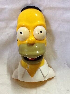Homer Simpson 3D Novelty Shower Radio, Approx 8 Inches - The Simpsons Tv Show