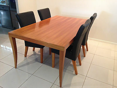 6 Seater Dining Table and 4 Chairs