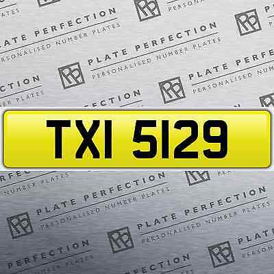 Txi 5129 Taxi Cab Dateless Cherished Private Number Dvla Registration