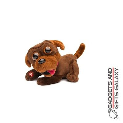 CHOCOLATE CHOPS MOTION ACTIVATED PUPPY DOG Kids childs toys and games