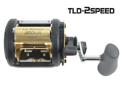 Shimano TLD 50A 2 Speed Game Reel (3.1:1, 1.3:21) BRAND NEW