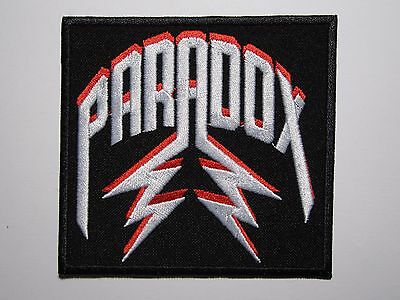 PARADOX first logo embroidered NEW patch thrash metal