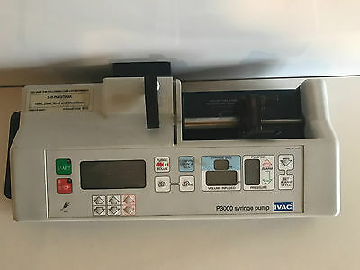 IVAC P3000 syringe pump infusion pump driver - tested