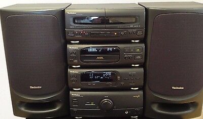 Technics SC-CH404 HiFi Component System Amp,Tuner,Cd,Tape and Phono Stage