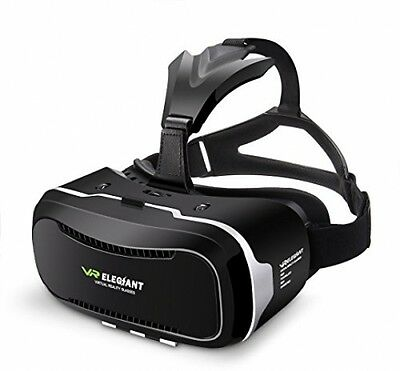 2nd Gen Virtual Reality Headset 3D VR Glasses Box For IPhone Samsung Smartphone