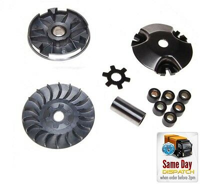 New Variator Drive Pulley Assy + Half Pulley For Vespa Et2 Lx Lxv Primavera S 50