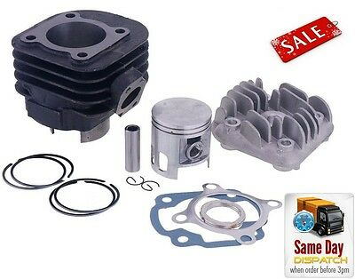 New Barrel Cylinder Kit + Head 70Cc Tuning Sport Aprilia Rally 50 Ac