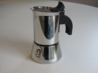Bialetti Venus 2 cup Stainless Steel Coffee Pot