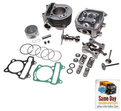 NEW BIG BORE CYLINDER BARREL KIT 150cc + HEAD FOR KYMCO MOVIE PEOPLE 125