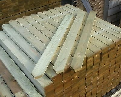 3' POINTED TOP WICKETS/PICKETS/PALES FOR FENCING Pack of 50