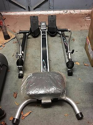 V-Fit HTR2 Dual Hydraulic Sculling Rowing Machine - Home Gym