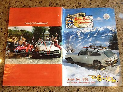 Reliant Sabre & Scimitar Owners Club Magazine