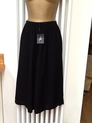 Bnwt Atmosphere Black Culottes Size 12