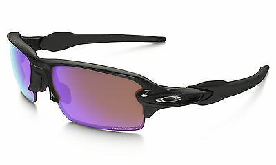 Oakley Flak 2.0 Asian Fit Polish Black Prizm Golf Sunglasses Oo9271-09 Authentic