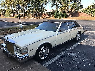1984 Cadillac DeVille all options 1984 Cadillac Seville