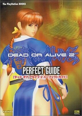 PS2 -DEAD OR ALIVE 2- Perfect Guide Book Japan Japanese
