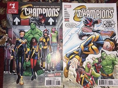 Marvel Champions Issues 1 And 2
