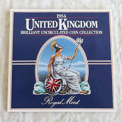 1984 ROYAL MINT 8 COIN BRILLIANT UNCIRCULATED SET - sealed