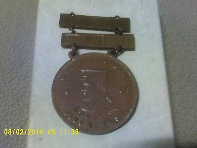Vintage - 1908 War Manuvers  MEDAL - SCHWAAB S&S  Co. MILWAUKEE