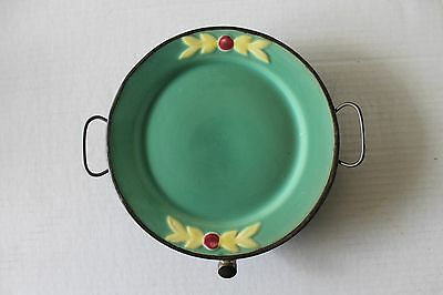 Coors Rosebud Warming Plate  Very Unusual  Warmer manufactured in Covington, KY