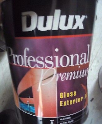 Dulux Professional Gloss Exterior 10L Colorbond Wallaby Paint Can Freight B4