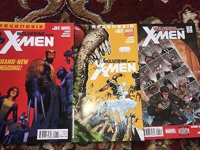 Wolverine And The Xmen Issues 1, 2 And 42