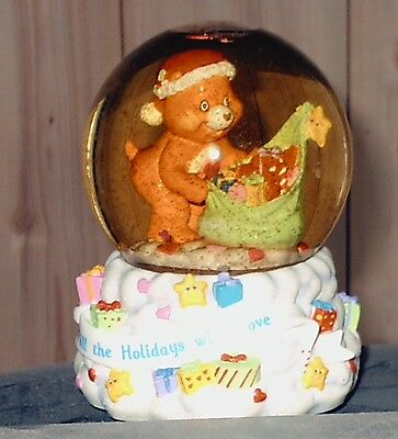 2003 Care Bears Fill The Holidays With Love&Box Carlton Cards