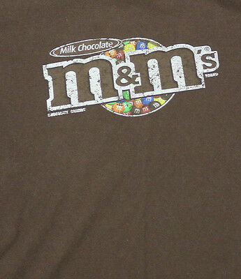 vintage M & M CHOCOLATE CANDY T Shirt