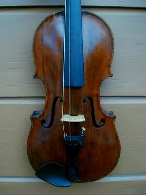 "Sehr alte Geige um 1770 ""C. & S. THOMPSON, LONDON"" - Very old violin"