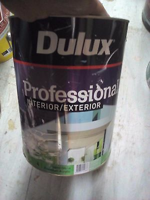 Dulux Professional Ext 10L Water Based Colorbond Paperbark Paint B6 Can Freight