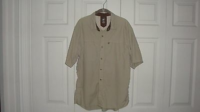 Men's REI Fishing/Camping Shirt Size XL In VG Condition *LOOK*